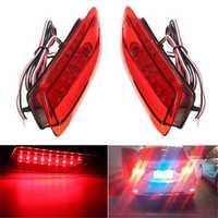 2pcs Rear Tail LED Bumper Brake Stop Running Light For Toyota Corolla Lexus CT200h