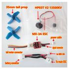 Promotion XK K110 RC Helicopter Spare Parts Brushless Tail ESC and Motor System Upgrade Kits
