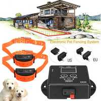 Anti Bark LCD Electric Remote Shock Pet 2 Dog Vibration Training Collar Systems