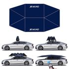 Offres Flash Xmund 400x220cm Automatic Protection Car Tent Umbrella Folding Remote Control Anti-UV Car Sunshade Waterproof Portable Movable Carport Canopy Cover Stand for Outdoor Camping Travel Blue
