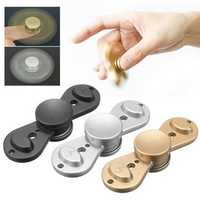 Droplets Rotating Fidget Hand Spinner ADHD Autism Fingertips Fingers Gyro Reduce Stress
