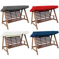 2-3 Seater Outdoor Garden Swing Chair Waterproof Cover Replacement Patio Canopy Spare Cover