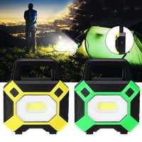 50W COB LED USB Work Light IP65 Waterproof Spotlight Floodlight Outdoor Camping Emergency Lantern