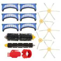 15pcs Vacuum Cleaner Accessories Kit Filters and Brushes for 600 Series Vacuum Cleaner