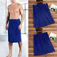 Mens Bathtub Skirt Soft Comfortable Absorbent Beach Towel
