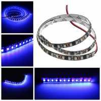 UV Ultraviolet Purple 3528 LED Flexible Strip Lamp Black Light 12V Waterproof