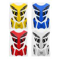 Universal 3D Motorcycle Tank Pad Decal Protector Cover Sticker For Honda/Yamaha/Suzuki