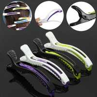6pcs Alligator Sectioning Hair Clips Separate Haircut Grip Styling Clamp Salon Hairdressing