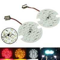 30 SMD LED 1156/1157 Turn Signal Panel Lights Bulb For Harley Davidson Touring