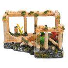 Les plus populaires Ancient Roman Ruins Ornament Dollhouse Decoration Gift Toys 23*16*12.5cm
