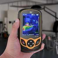HT-A1 Handheld Infrared Imager 300000 Pixel 3.2 Inch Full View TFT Display Screen Thermal Camera Digital Temperature Tester Buit-in 3G Memory