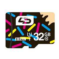 LD 32GB Class 10 Data Storage TF Card Flash Memory Card for Mobile Phone