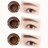 3 Colors Air Cushion Eyebrow Cream Waterproof Not Blooming Eye Brow Enhancers Makeup Gel
