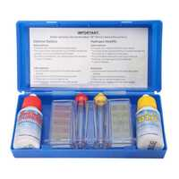 Portable PH Chlorine Water Quality Test Kit Swimming Pool Spa Test Indicator w/ Color Chart