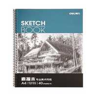 Deli 7698 Professional Art Painting Paper A4 Sketch Paper Sketchbook 40 Pages/Book