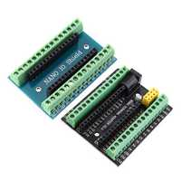 Nano V3.0 Terminal Adapter AVR ATMEGA328P with NRF2401+ Expansion Interface DC Power Board for Arduino