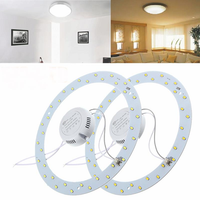 18W 36 LED White/Warm White Panel Circle Annular Practical Efficient Ceiling Light