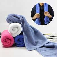 Microfiber Soft Sport Absorbent Sweat Wash Towels Car Auto Care Screen Window Cleaning Cloth
