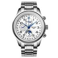 GUANQIN GQ20022 Moon Phase Calendar Auto Mechanical Watch