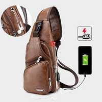 Men Outdoor Shoulder Chest Bag