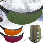 Bon prix Camping Hammock Underquilt Outdoor Winter Down Warm Sleeping Bag Portable Folding Hammock Cover