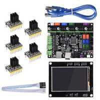 BIGTREETECH SKR V1.1 32-Bit MKSGEN-L Control Mainboard+TFT35 Display Screen+5Pcs TMC2130 Driver Kit for Reprap 3D Printer