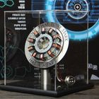 Offres Flash In Stock 1:1 Arc Reactor DIY Model MK2 Led Light Mark Chest Tony Heart Lamp Light DIY Model Science Toy