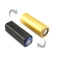 On The Road 18650 To 26650 Li-ion Battery Conversion Body Tube Battery Holder