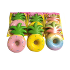 Wholesale Price Vlampo Squishy Jumbo Pineapple Donut Licensed Slow Rising Original Packaging Fruit Collection Gift Decor Toy