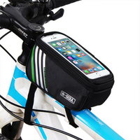 Outdoor Sport Cycling Screen Touch Front Frame Pouch Phone Bag Holder for iPhone Xiaomi Samsung