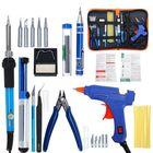 Meilleur prix Electric Soldering Iron Set Desoldering Pump Welding Hot Melt Glue G un Hand Tool Sets EU 220V