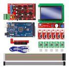 Meilleurs prix Rampas 1.4 Controller + Mega2560 R3 + 12864 Display with Limit Switch & A4988 Stepper Motor Driver DIY Kit for CNC 3D Printer