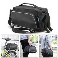 ROSWHEEL Bicycle Bag Bike Pannier Rear Rack Pack Tail Seat Trunk Double Pannier