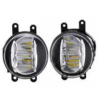 Car Front Fog Lights Lamp Halogen Bulb with Switch Cable for Toyota Camry XSE 2018