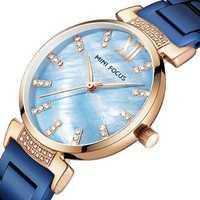 MINI FOCUS MF0227L Simple Design Steel Women Quartz Watch