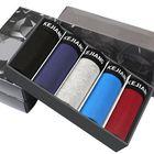 Meilleurs prix 5 Pieces Men Modal U Convex Mid Rise Solid Color Underwear