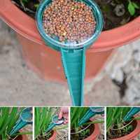 Adjustable Size Seed Disseminator Gardening Plants Flower Seeder Seeds Storage Box