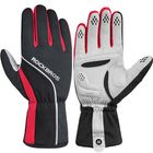 Meilleurs prix ROCKBROS Cycling Glove Touch Screen Windproof Waterproof Full Long Finger Gloves Winter Fleece Thermal Warm Gloves