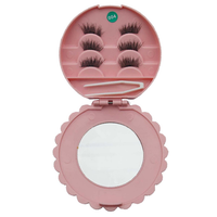 6pcs Thick 3D Magnetic False Eyelashes with Reusable Box