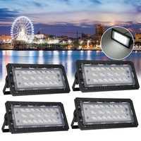 70W 76 LED Flood Light Spot Outdoor Lamp Waterproof Garden Landscape Light