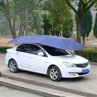 Portable Automatic Car Umbrella Tent Remote Control Operated Waterproof Anti UV