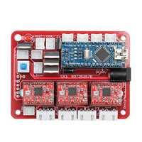 Original 2417 CNC Router 3 Axis Control Board GRBL USB Stepper Motor Driver DIY Laser Engraver Milling Engraving Machine Controller