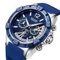 MEGIR 2083G Military Design Chronograph Men Quartz Watch