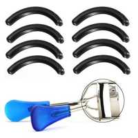 8 Pcs Eyelash Curler Replacement Refill Rubber Pads Beauty Tool