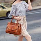 Les plus populaires Women Snake Pattern Tote Bag Handbag