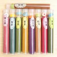50 Sticks Incense Burners Aromatherapy Fragrance Pure Sandalwood Spices Natural Aroma Clean Air