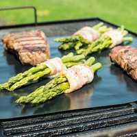 33X40CM Reusable BBQ Grill Mat Non-stick Teflon Mat Baking Liner