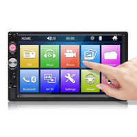 7023B 7 Inch 2 DIN Car Stereo Radio HD Touch Screen bluetooth Multimedia Player FM MP5 TF USB with Camera