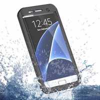 Waterproof Shockproof Cover Case w/ Strap For Samsung Galaxy S7 Edge