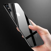 Bakeey Plating Tempered Glass Protective Case For iPhone XS/XS Max